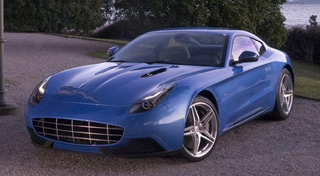 Ferrari Touring Superleggera Berlinetta Lusso with ceramic brakes